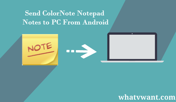 Color Note Backup