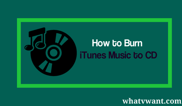 how to make a cd from itunes songs
