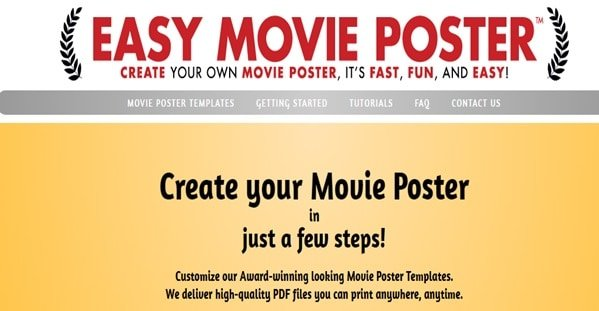 Top 5 Free Movie Poster Maker Websites And Online Design