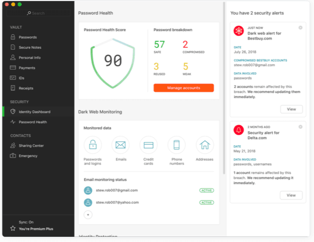 Dashlane Review : Pricing & Features Of A Robust Password