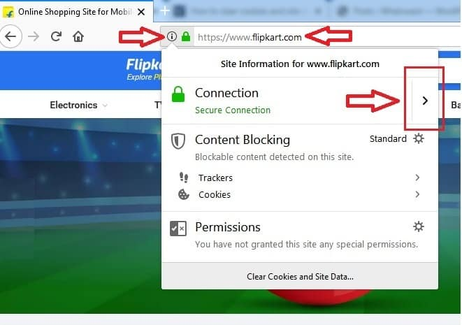 2 Ways To Clear Cookies For A Specific Site In Firefox - Whatvwant