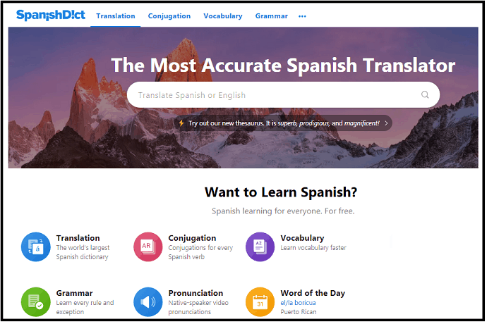 7 Best Free Spanish English Dictionary Sites In 2019
